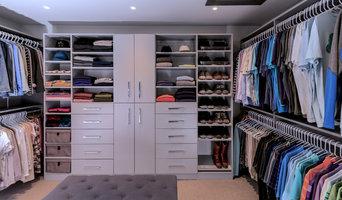 Custom Walk-in Closet and Shoe / Purse Storage