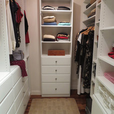 Traditional Closet by Gotham Closets