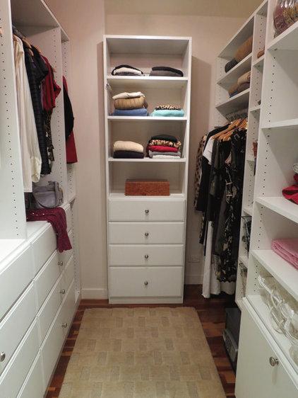 Traditional Closet by Gotham Closets