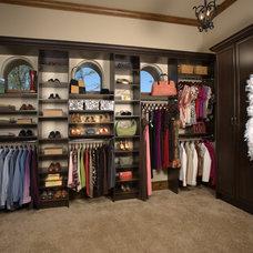 Contemporary Closet by Interior Door & Closet Company | Los Angeles, CA
