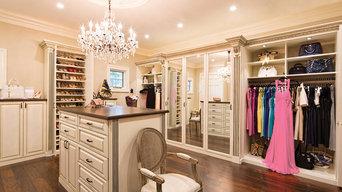 Custom Walk in Closets