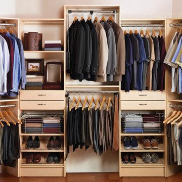 Custom Walk-in  / Reach-in Closets