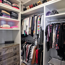 Transitional Closet by Madison Taylor