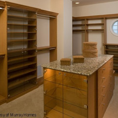 mediterranean closet by Clifford M. Scholz Architects Inc.