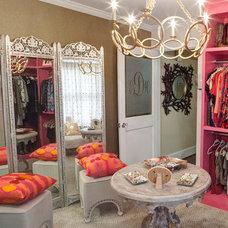 Eclectic Closet by Nicole Norris Design Studio, Inc.