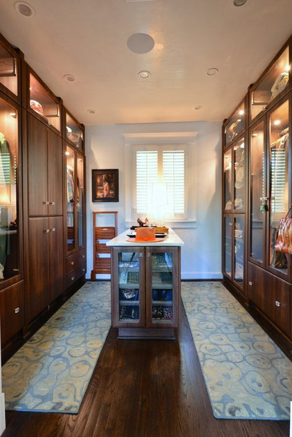 Contemporary Closet by Kitchens Baths & Closets, LLC