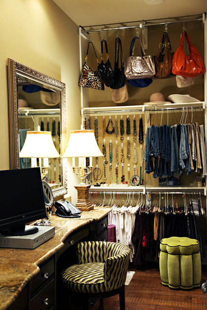 contemporary closet by Emily Johnston Larkin