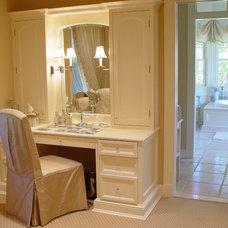 Traditional Closet by Maggie McManus Kitchens & Baths