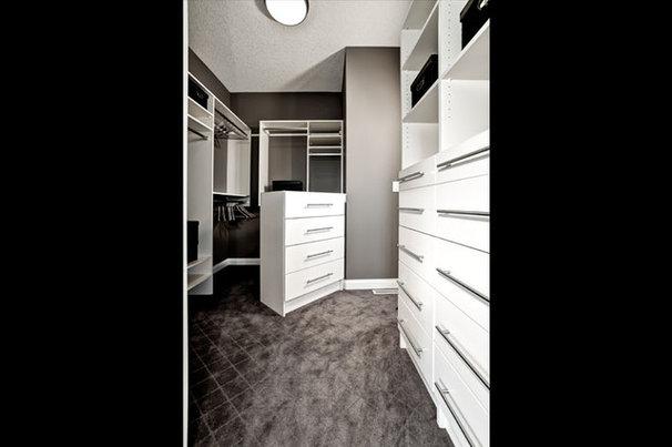 Contemporary Closet by Shane Homes Ltd.