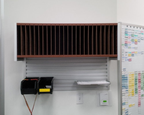Hafele omni track office system for Omni garage door