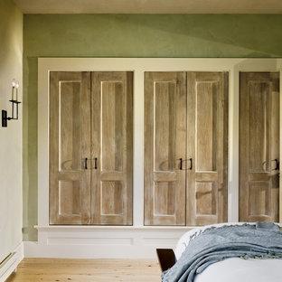 Elegant light wood floor closet photo in Burlington