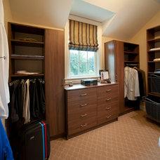 Traditional Closet by WPL Interior Design