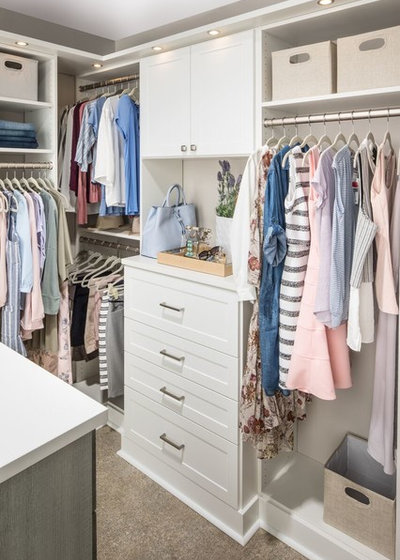 Contemporary Cabinet by Inspired Closets by Organized Spaces