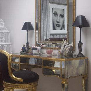 Detail of Mirrored Vanity