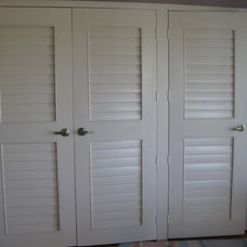 Traditional Closet by Wholesale Shutter Company