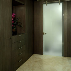 modern closet by Troy Dean Interiors