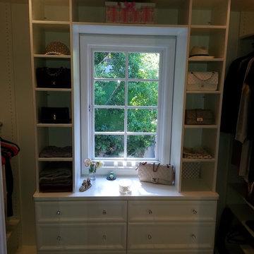 Display Case Walk In Closet