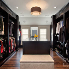 Transitional Closet by SMART Construction Group, Ltd.