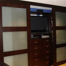 Contemporary Closet by Fister Design