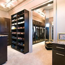 Contemporary Closet DOUBLE closet To Die For!