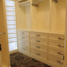 Traditional Closet by Custom Corners LLC