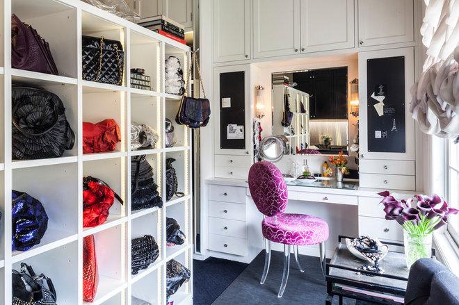 Traditional Closet by Marks & Frantz Interior Design