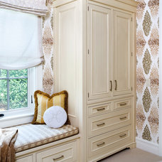 Traditional Closet by Sroka Design, Inc.