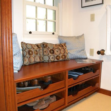 Traditional Closet by Eileen Kollias Design