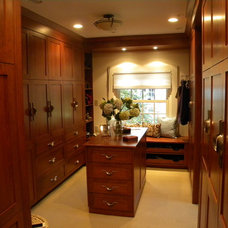 Traditional Closet by Eileen Kollias Design