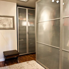 Contemporary Closet by Kirsten Anthony Design Group