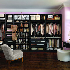 contemporary closet Dressing Room