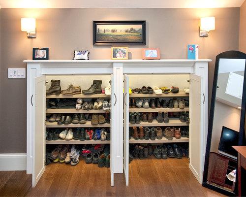 shoe cabinet houzz