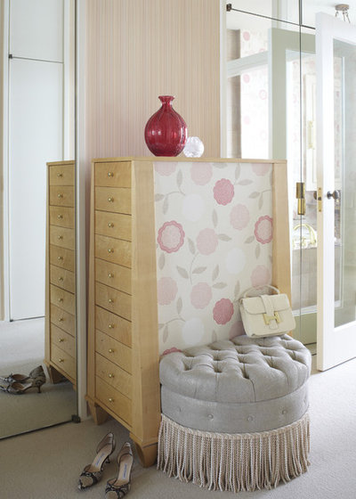 Transitional Wardrobe by Jessica Lagrange Interiors