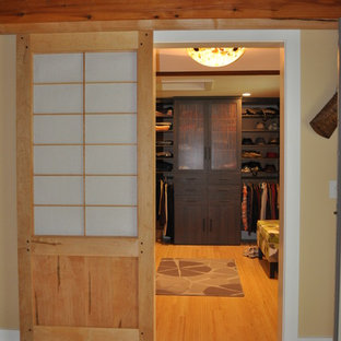 This is an example of an asian storage and wardrobe in Providence.