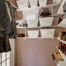 Eclectic Closet by Seattle Staged to Sell and Design LLC