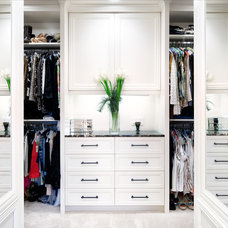 Eclectic Closet by CG&S Design-Build