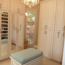 Traditional Closet by Patricia Ross interiors