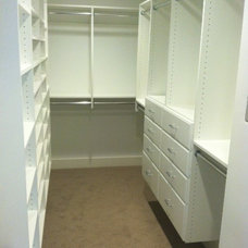 Traditional Closet by Finished Spaces