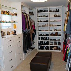 Traditional Closet by Key Residential