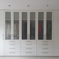 Contemporary Closet by Kitchens and Cupboards By Brendan