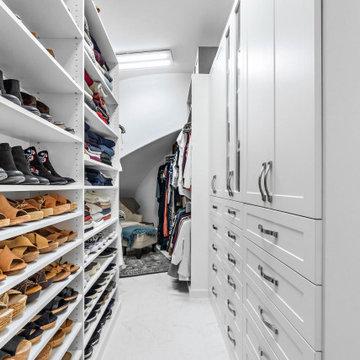 Elegant Master Closet Design