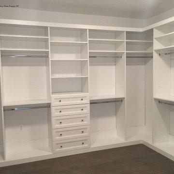 Elegant White Closet McLean, VA