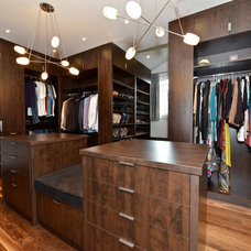 Contemporary Closet by Couture Closets