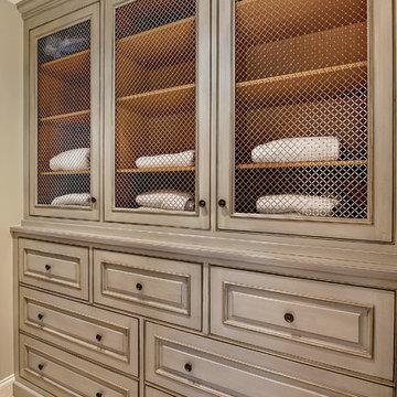 Enclosed Linen Cabinet
