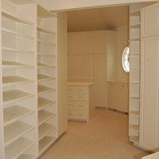 Traditional Closet by jameshoffman