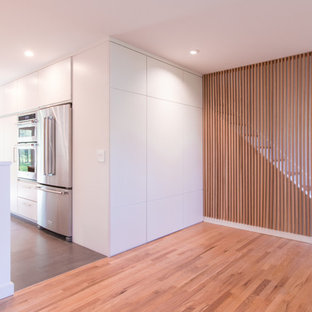 Entrance Foyer with Coat closet overlooking Kitchen