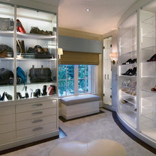 Contemporary Closet by Martin Perri Interiors, Inc.