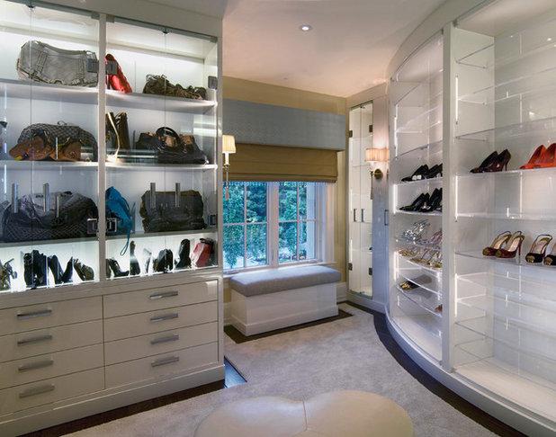 Contemporary Closet by Martin Perri Interiors, Inc.