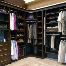 Contemporary Closet by A Place for Everything Closets