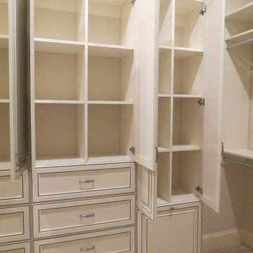 Expansive Master Walk-In Closet - Atlanta, Georgia